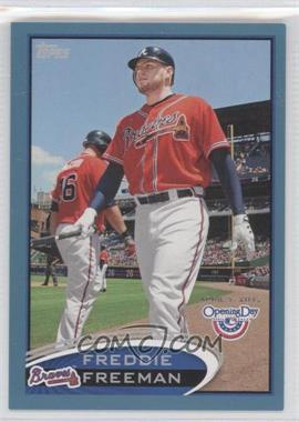 2012 Topps Opening Day - [Base] - Blue #210 - Freddie Freeman /2012