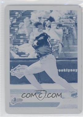 2012 Topps Pro Debut - [Base] - Printing Plate Cyan #23 - Garin Cecchini /1