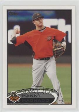 2012 Topps Pro Debut - [Base] #16 - Manny Machado