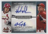 Matt Adams, Jordan Swagerty /50