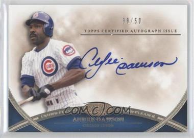 2012 Topps Tier One - Crowd-Pleaser Autographs - [Autographed] #CPA-AD - Andre Dawson /50
