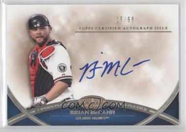 2012 Topps Tier One - Crowd-Pleaser Autographs - [Autographed] #CPA-BM - Brian McCann /50
