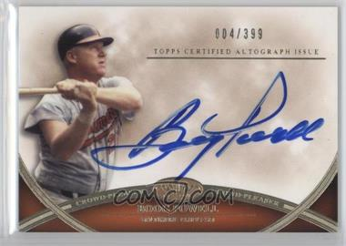 2012 Topps Tier One - Crowd-Pleaser Autographs - [Autographed] #CPA-BP - Boog Powell /399