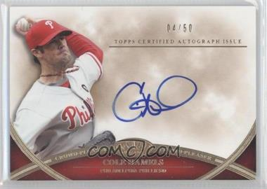2012 Topps Tier One - Crowd-Pleaser Autographs - [Autographed] #CPA-CH - Cole Hamels /50