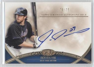 2012 Topps Tier One - Crowd-Pleaser Autographs - [Autographed] #CPA-ID - Ike Davis /75