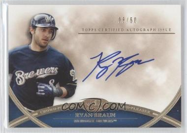 2012 Topps Tier One - Crowd-Pleaser Autographs - [Autographed] #CPA-RB - Ryan Braun /50
