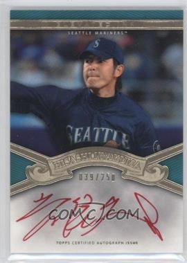 2012 Topps Tier One - Elevated Ink - [Autographed] #EI-HI - Hisashi Iwakuma /250