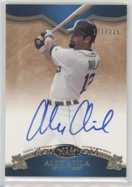 2012 Topps Tier One - On the Rise Autograph - [Autographed] #OR-AA - Alex Avila /235