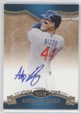 2012 Topps Tier One - On the Rise Autograph - [Autographed] #OR-ARI - Anthony Rizzo /235