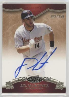 2012 Topps Tier One - On the Rise Autograph - [Autographed] #OR-JDM - J.D. Martinez /350