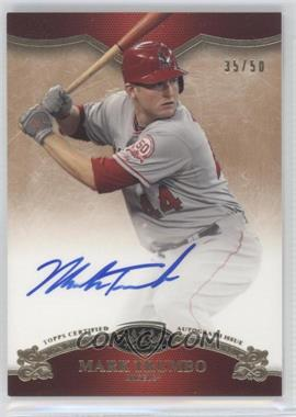 2012 Topps Tier One - On the Rise Autograph - [Autographed] #OR-MT - Mark Trumbo /50