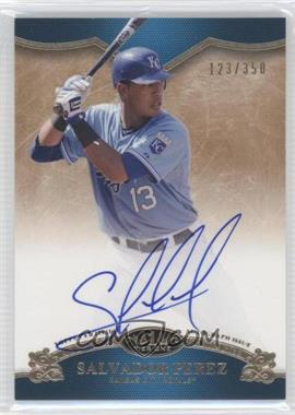 2012 Topps Tier One - On the Rise Autograph - [Autographed] #OR-SP - Salvador Perez /350