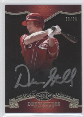 2012 Topps Tier One - On the Rise Autograph - Silver Ink [Autographed] #OR-DST - Drew Stubbs /10