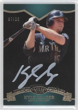 2012 Topps Tier One - On the Rise Autograph - White Ink [Autographed] #OR-KSE - Kyle Seager /25