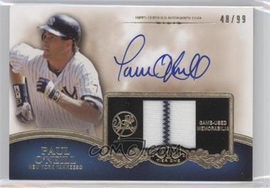 2012 Topps Tier One - Top Shelf Autographed Relics - [Autographed] #TSAR-PO - Paul O'Neill /99