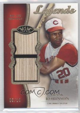 2012 Topps Tier One - Top Shelf Legends Relics - Dual #TSDL-FR - Frank Robinson /15