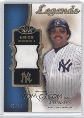 2012 Topps Tier One - Top Shelf Legends Relics #TSL-RJ - Reggie Jackson /50