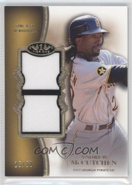 2012 Topps Tier One - Top Shelf Relics - Dual #TSDR-AM - Andrew McCutchen /50