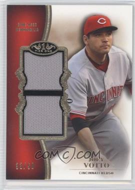 2012 Topps Tier One - Top Shelf Relics - Dual #TSDR-JVO - Joey Votto /50