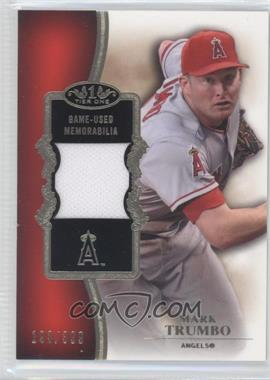 2012 Topps Tier One - Top Shelf Relics #TSR-MT - Mark Trumbo /399