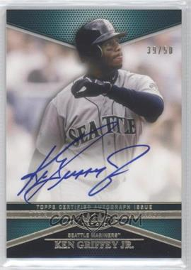 2012 Topps Tier One - Top Tier Autograph #TTA-KG - Ken Griffey Jr. /50
