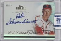 Red Schoendienst /99 [Uncirculated]