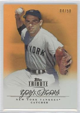 2012 Topps Tribute - [Base] - Orange #14 - Yogi Berra /50