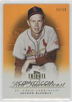 Red Schoendienst [EX to NM] #/50