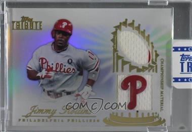 2012 Topps Tribute - Championship Material Relic - Encased #CM-JR - Jimmy Rollins /99 [Uncirculated]