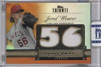 Jered Weaver /25 [ENCASED]