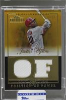 Justin Upton /15 [Uncirculated]