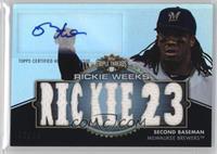 Rickie Weeks #/18