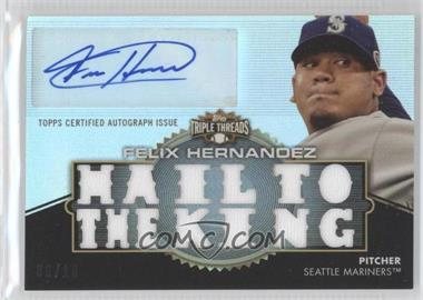 2012 Topps Triple Threads - Autographed Relics #TTAR-246 - Felix Hernandez /18