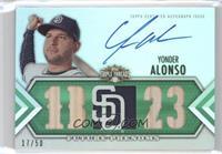 Yonder Alonso #/50