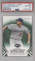 Clayton Kershaw /250 [PSA 10 GEM MT]