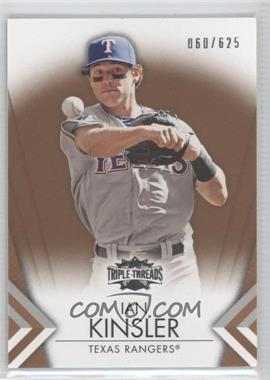 2012 Topps Triple Threads - [Base] - Sepia #38 - Ian Kinsler /625