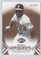 Rickey Henderson /625