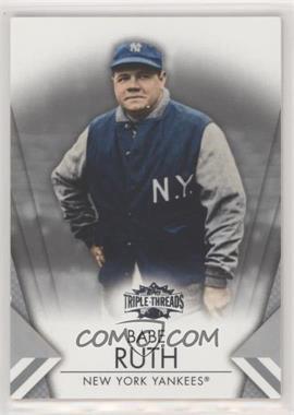 2012 Topps Triple Threads - [Base] #11 - Babe Ruth