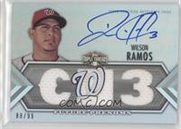 Future Phenoms Auto Relics - Wilson Ramos #/99