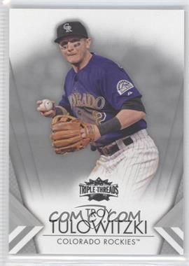 2012 Topps Triple Threads - [Base] #13 - Troy Tulowitzki