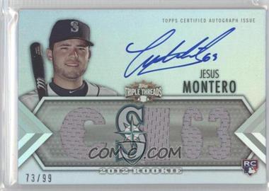 2012 Topps Triple Threads - [Base] #144 - Jesus Montero /99