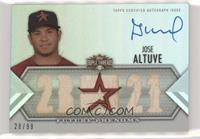 Future Phenoms Auto Relics - Jose Altuve [Noted] #/99