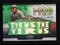Ty Cobb #/18
