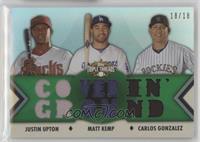 Justin Upton, Matt Kemp, Carlos Gonzalez /18