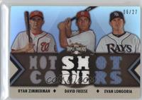Ryan Zimmerman, Evan Longoria, David Freese /27