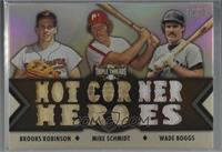 Brooks Robinson, Mike Schmidt, Wade Boggs /27
