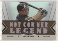 Chipper Jones #/27