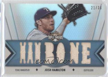 2012 Topps Triple Threads - Relics #TTR-68 - Josh Hamilton /36