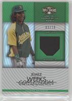 Jemile Weeks #/18