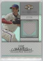Cole Hamels #/36